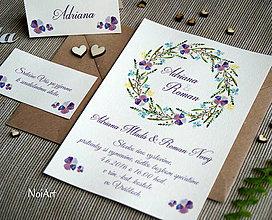 Papiernictvo - Svadobné oznámenie 9 - 7636230_