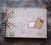 Papiernictvo - Cestovateľský album na fotografie - 7638585_