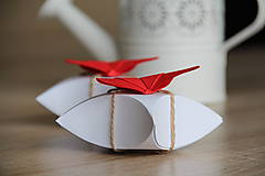 Darčeky pre svadobčanov - darčeková krabička