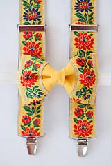 Doplnky - Folkový set žltý - 7636597_