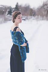 Pléd/ prehoz / šál k spoločenským šatám na ples