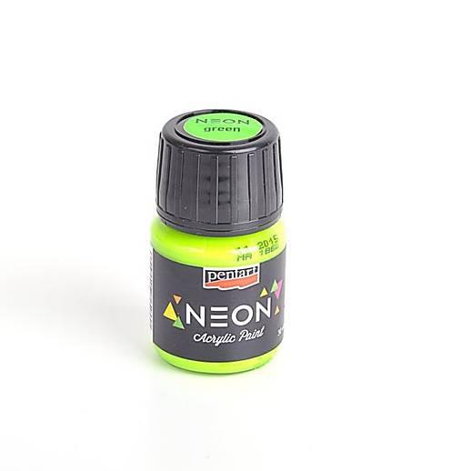 Akrylová farba neónová zelená