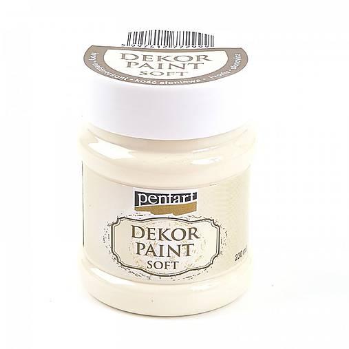 Dekor Paint Soft - slonovinová 230 ml****