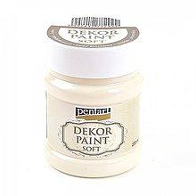 Farby-laky - Dekor Paint Soft - slonovinová 230 ml**** - 7638614_