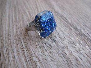 Prstene - Štvorcový prsteň farebný - 7637959_