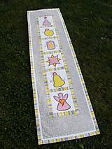 Úžitkový textil - Vianočná štóla - aplikácie :) - 7639141_