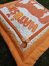 Úžitkový textil - Koník 3 - vankúš s menom :) - 7639371_