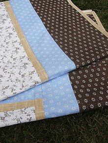 Úžitkový textil - Obrusy - rôzne druhy. - 7637533_