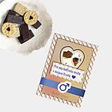 Grafika - Sladká valentínska pohľadnica cukríky pre neho - 7638078_