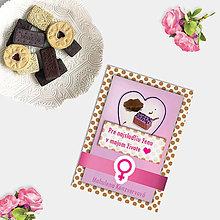 Grafika - Sladká valentínska pohľadnica cukríky pre ňu (14) - 7635806_