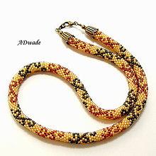 Náhrdelníky - Korálkový náhrdelník 589-0042 - 7640768_