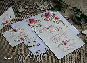 Papiernictvo - Svadobné oznámenie 10 - 7641407_