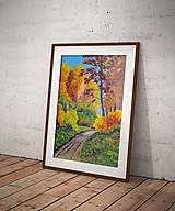 Obrazy - Lesná cesta - 7642392_