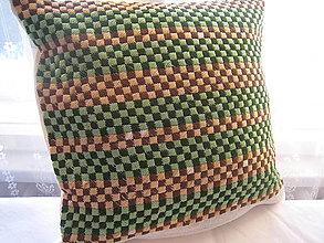 Úžitkový textil - Vyšívaná poduška - 7639993_