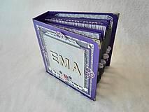 """Papiernictvo - Luxusný veľký fotoalbum pre dieťa - dievčatko """"EMA"""" - 7640674_"""