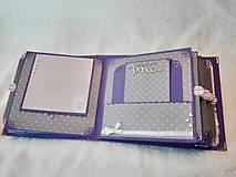 """Papiernictvo - Luxusný veľký fotoalbum pre dieťa - dievčatko """"EMA"""" - 7640680_"""