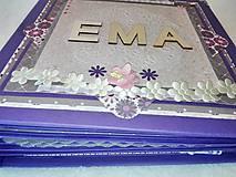 """Papiernictvo - Luxusný veľký fotoalbum pre dieťa - dievčatko """"EMA"""" - 7640683_"""