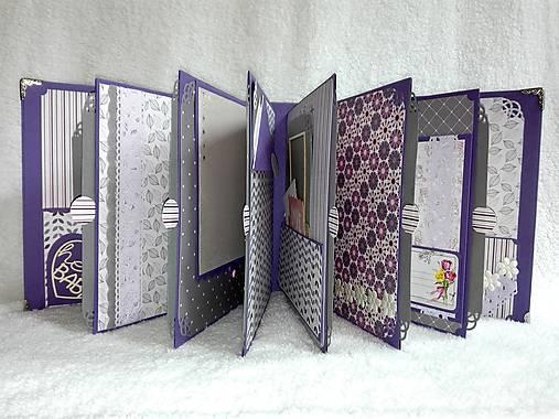 Luxusný veľký fotoalbum pre dieťa - dievčatko