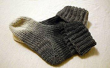 Obuv - Ponožky na zimu - 7640937_