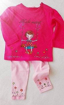 Detské oblečenie - Tricko a leginky - 7642893_