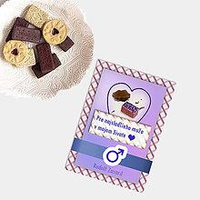 Grafika - Sladká valentínska pohľadnica cukríky pre neho (7) - 7640031_
