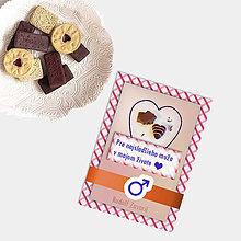 Grafika - Sladká valentínska pohľadnica cukríky pre neho (11) - 7640719_