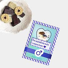Grafika - Sladká valentínska pohľadnica cukríky pre neho (15) - 7641745_