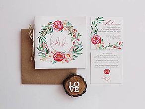 Papiernictvo - Svadobné oznámenie Vellum - 7646555_