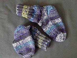 Obuv - hrubé ponožky - 7643403_