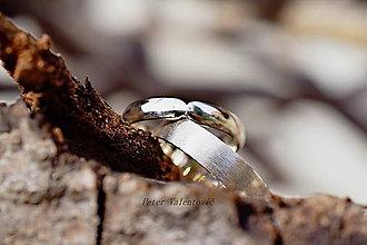 Prstene - Simply v striebre - 7647280_