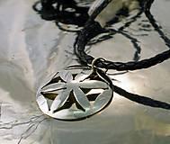 Šperky - prívesok svarga na koži - 7645583_