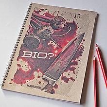 Papiernictvo - MADEBOOK špirálový zošit A4 - bio? - 7645571_