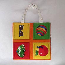 Detské tašky - pastelkovník peračník (s veselými obrázkami) - 7646994_