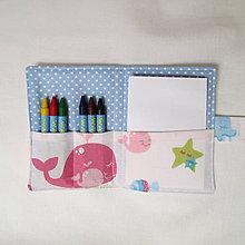 Detské tašky - pastelkovník vreckový (ryby) - 7647048_