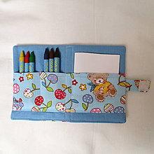 Detské tašky - pastelkovník vreckový (čerešničky) - 7647120_