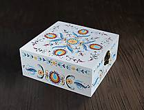 Krabičky - Ručne maľovaná šperkovnica Martinka - 7643858_