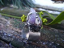 Prstene - Kvitnem pre teba.......(ametyst) - 7645718_