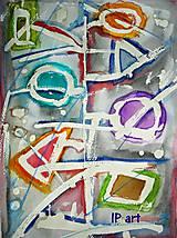 Kresby - Veselý akvarel - 7643862_