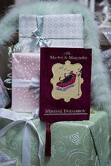 Kabelky - Kabelka v podobě knihy Mistr & Markétka - 7647225_