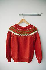 Svetre/Pulóvre - sveter rust - 7646351_