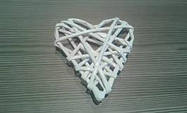Pletené srdce malé