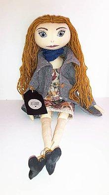 Bábiky - Amelia - dekoračná bábika - 7643969_