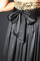Šaty - Spoločenské šaty s flitrami rôzne farby - 7644429_