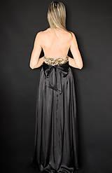 Šaty - Spoločenské šaty s flitrami rôzne farby - 7644486_