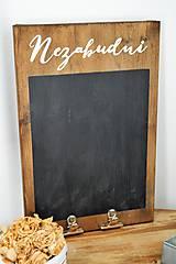 "Tabuľky - Stará tabuľa ""Nezabudni"" - 7646196_"