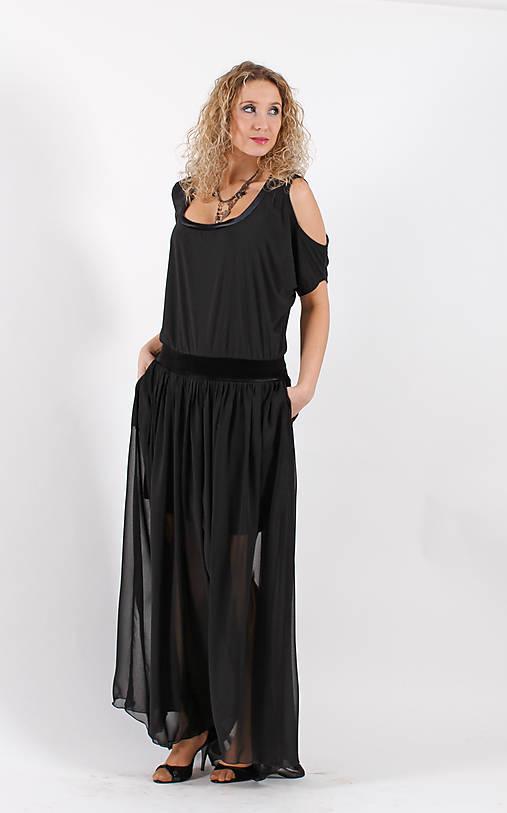 Černé společenské šaty   ladeesse - SAShE.sk - Handmade Šaty 84db0b93c4e