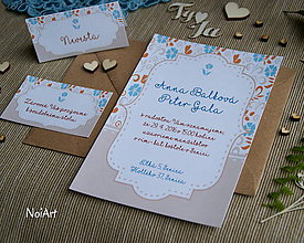 Papiernictvo - Svadobné oznámenie 11 - 7650308_