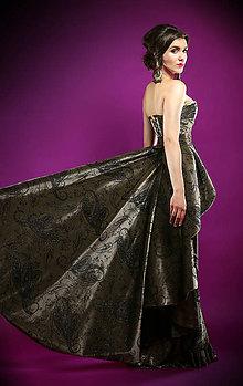 Šaty - šaty LUXURY samet - 7648554_