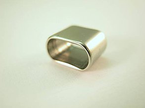 Komponenty - Obdĺžnikový komponent - posuvník, korálka... - nerezová oceľ 304 - 7649755_