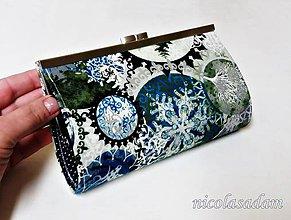 Peňaženky - Peněženka rámečková - 20cm šíře - 7650558_